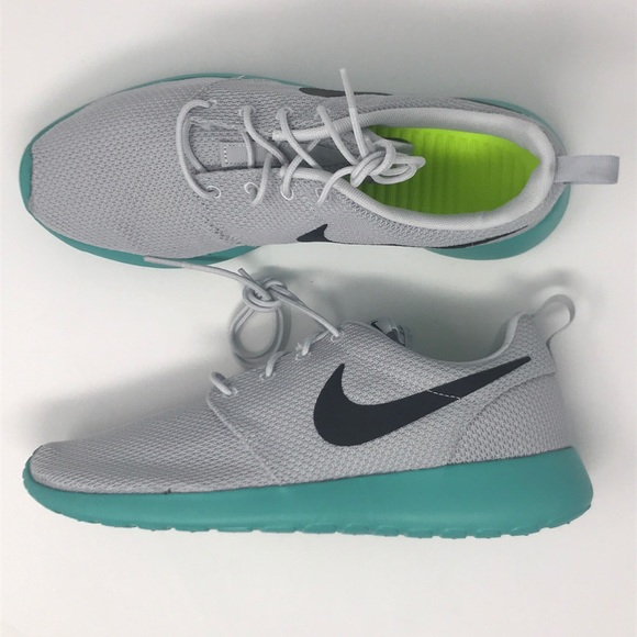 8d5a09ca014a50 coupon code nike roshe gray and turquoise a4dde 45522